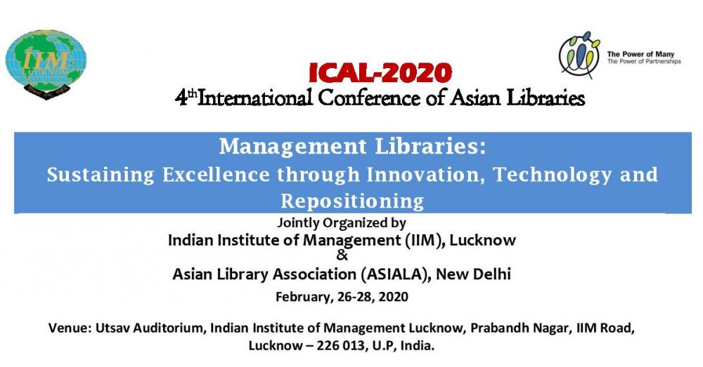 4th International Conference of Asian Libraries